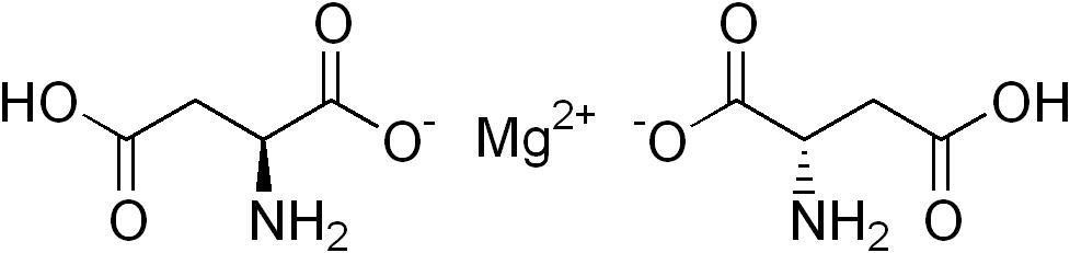 Magnéziumtípusok: Magnézium-aszpartát képlet
