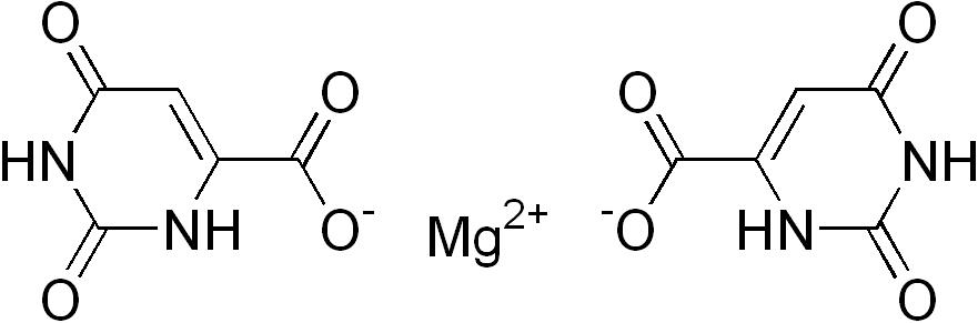 Magnéziumtípusok: Magnézium-orotát képlete