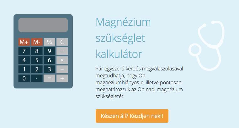 magnézium kalkulátor